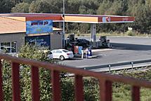 La gasolinera de Guitiriz. | Pedro Agrelo