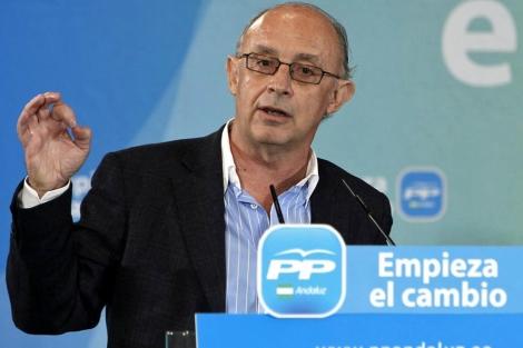Cristóbal Montoro, portavoz económico del PP. | Efe
