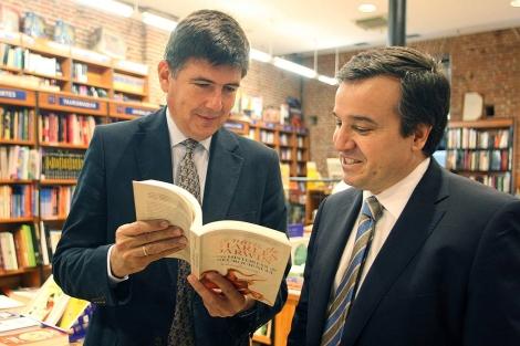 El ex ministro Pimentel con José Ramón Alonso. | Ical
