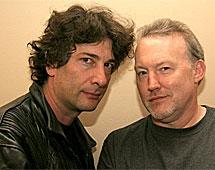 Gaiman y Jones. | 23 Escalones