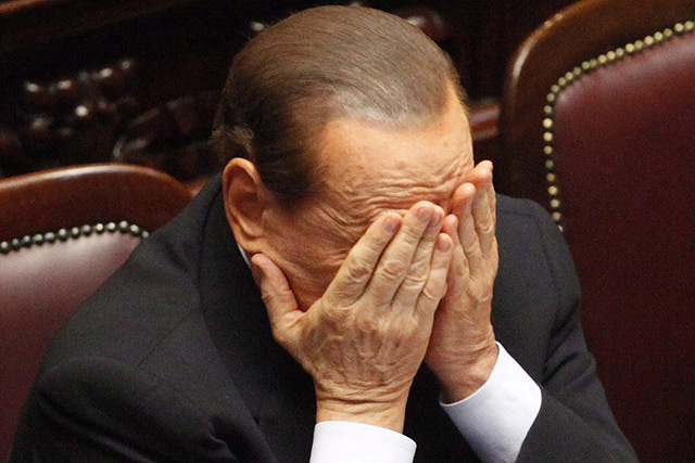 Berlusconi en una imagen del pasado julio. | Efe