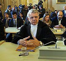 Longo, uno de sus letrados en el 'caso Mediaset' | AP
