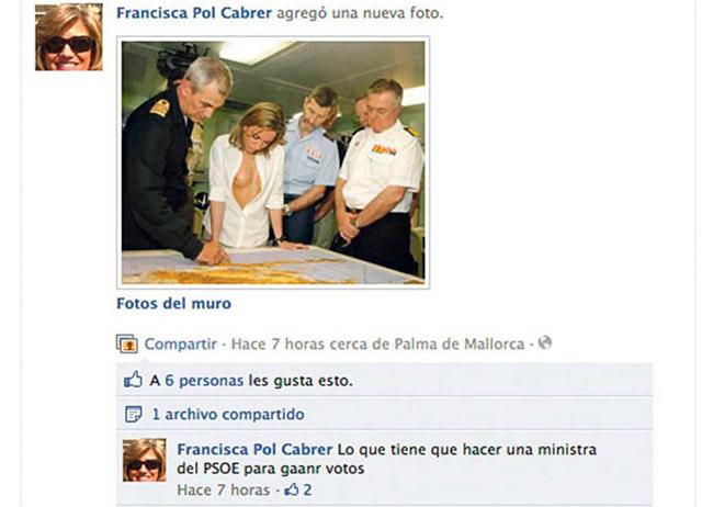 Captura de la foto en la página de Pol.   EL MUNDO