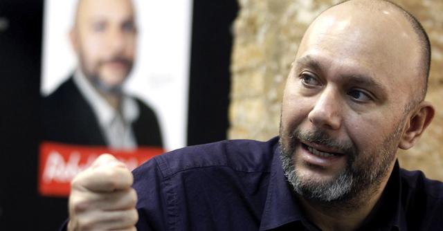 El cabeza de lista de Esquerra Unida-Els Verds al Congreso por Valencia, Ricardo Sixto. | Efe