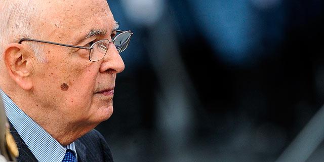 El presidente de la República de Italia, Giorgio Napolitano. | Afp