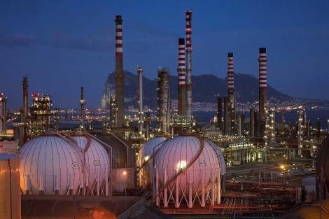 Refinería de petróleo propiedad de Cepsa en Algeciras. | EL MUNDO