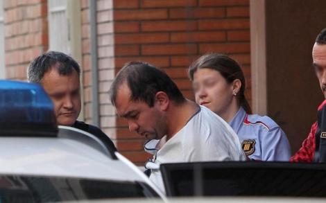 El presunto homicida, tras su detención. | Efe