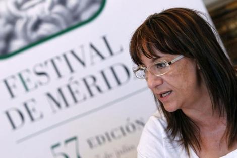 La ex directora del festival, Blanca Portillo. | EL MUNDO