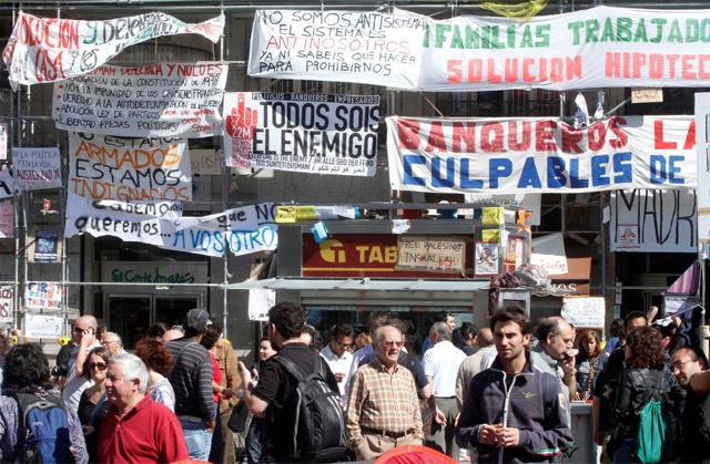Protestas del 15-M. | Diego Sinova