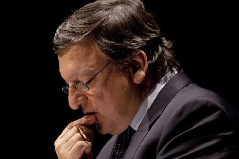 Durão Barroso, durante la charla que ofreció anoche en Berlín. | Ap