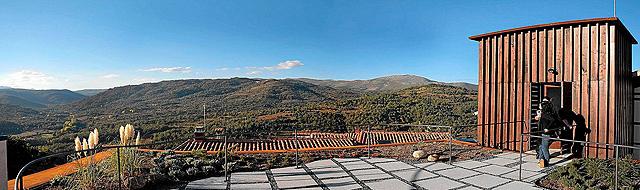 Panorámica de la Sierra de Francia desde la Posada Miranda, gestionada por Asprodes. | E. Carrascal