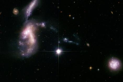 Imagen captada por el Telescopio espacial Hubble. | NASA / ESA