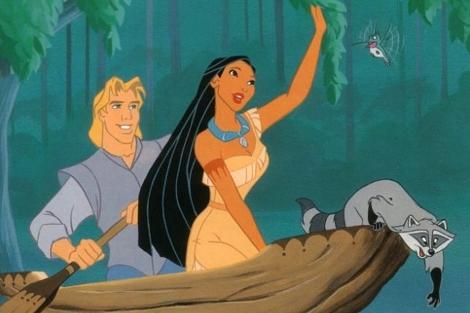 Fotograma de la película 'Pocahontas'.