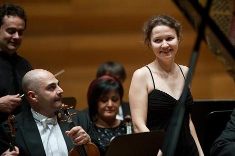 Marina Goshkieva, ganadora del concurso.   Photogenic   Miguel Ángel Santos