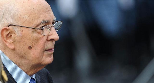El presidente de la república italiana, Giorgio Napolitano, el pasado 4 de noviembre. | Afp