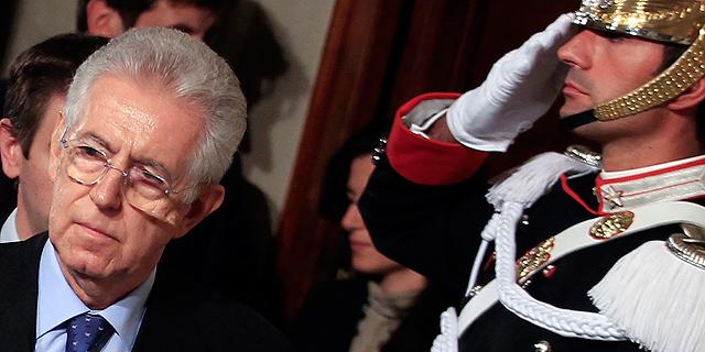 Mario Monti, tras recibir el encargo por parte del presidente de la República. | Reuters
