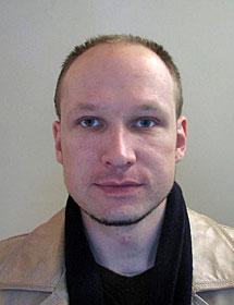 Breivik, en una imagen de archivo.   AP/Norwegian Police