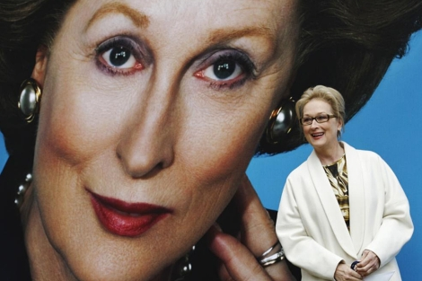 Mery Streep, este lunes en Londres. | Reuters