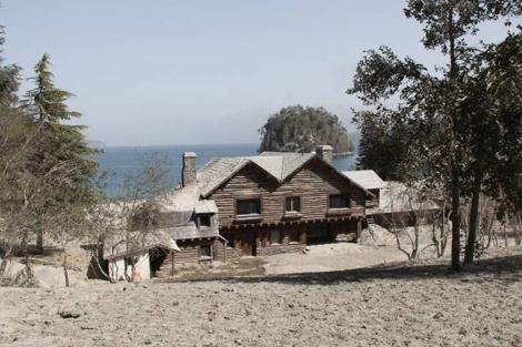 Imagen de la casa de la Patagonia donde supuestamente huyó Adolf Hitler. | Cedoc / Perfil.com