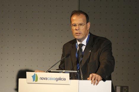 El ex director general de NovacaixaGalicia, José Luis Pego. | EM