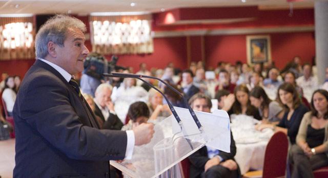 Alfonso Rus, durante un acto de campaña del PP en Valencia. | Vicent Bosch