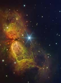 la nebulosa Sharpless 2-106.  IAC.