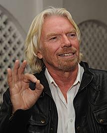 Richard Branson. | AFP