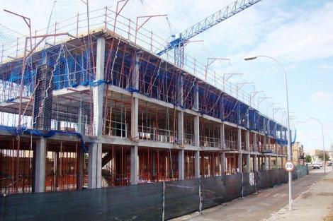 Edificio en construcción en Sevilla. | El Mundo
