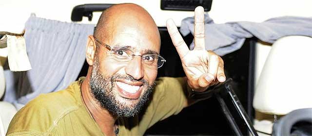 Saif al Islam, en una imagen de archivo.   Reuters