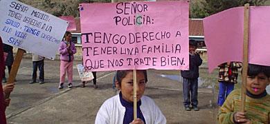 Niños peruanos defienden sus derechos. | Entreculturas