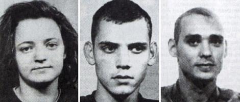 Los neonazis alemanes pertenecientes a la célula terrorista. | Efe