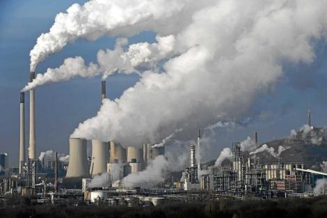 Foto de archivo de una central térmica de carbón en Alemania. | AP