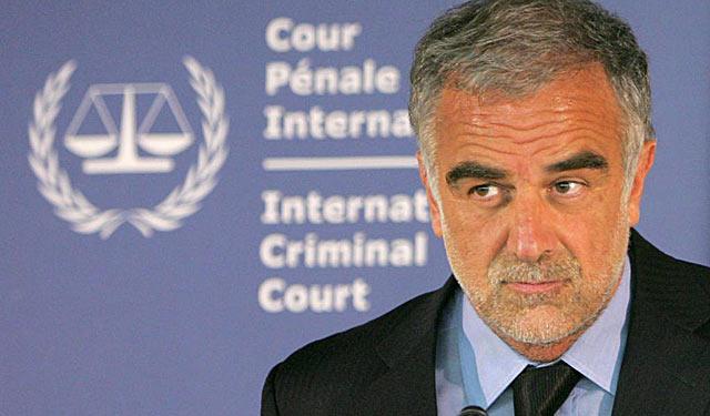 El fiscal general del TPI, Luis Moreno-Ocampo, centrado estos días en el destino de Saif al Islam. | Ap