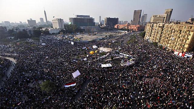 La Plaza Tahrir este martes. | Ap
