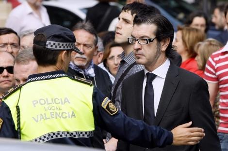 Rafael Betoret, tras acudir a declarar en el TSJ de Valencia en mayo de 2009. | B. Pajares