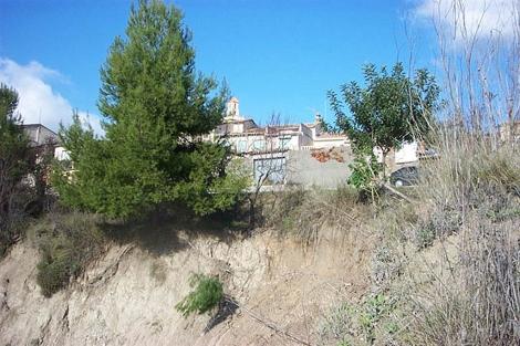 Una imagen del municipio tras las lluvias de 2004. | E.M.