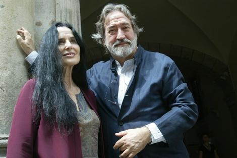 Montserrat Figueras y Jordi Savall, en 2010. | Domènec Umbert