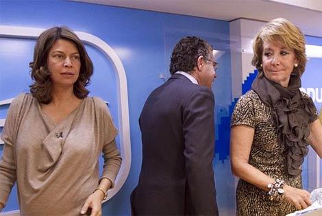 Figar, Aguirre y Granados, en una imagen tomada ayer. | B. Rivas
