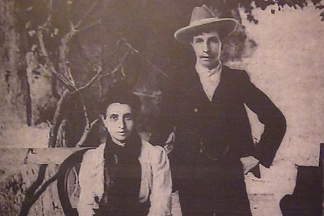 Marcela y Elisa, durante su etapa en Oporto, encarceladas.