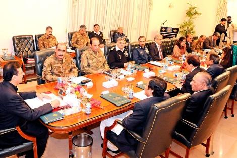 Reunión extraordinaria del comité gubernamental de Defensa. | Efe
