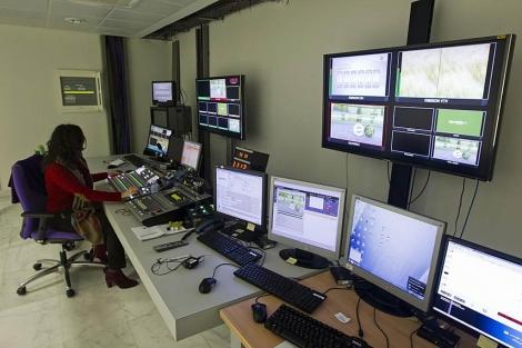 Centro de control de las emisiones en 3D de Tecnalia en Vitoria. | Iñaki Andrés