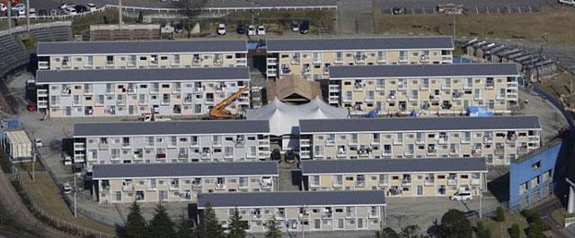 Barrio de contenedores del arquitecto Shigeru Ban.| Reuters