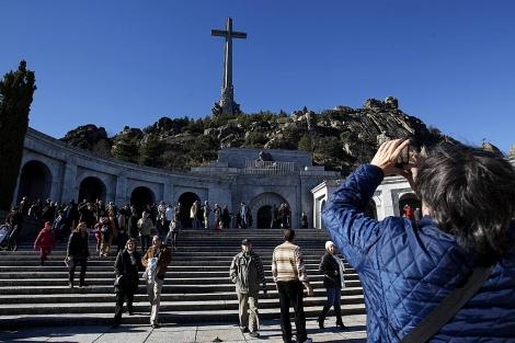 La basílica del Valle de los Caídos, donde están enterrados los restos de Franco. | J. Barbancho