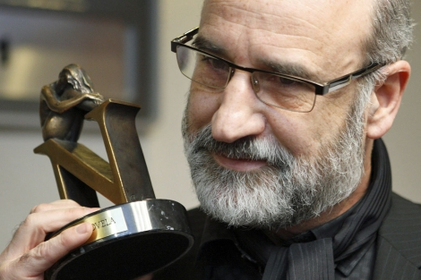 El escritor Fernando Aramburu, ganador de la séptima edición del Premio Tusquets.   Efe