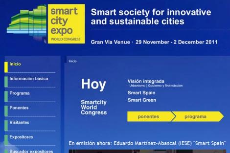 Portal oficial del Congreso que se celebra en Barcelona.