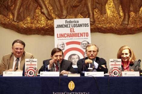 Vidal, Losantos, Herrero y Navajo en la presentación | Foto: Sergio Enriquez-Nistal
