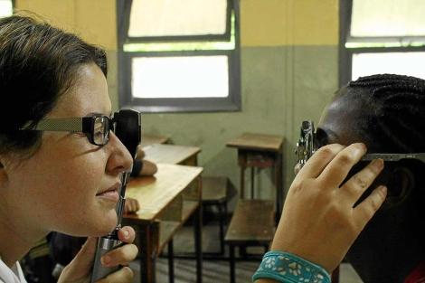 La Fundación Bona Llum trabaja tanto en Baleares como en el Tercer Mundo.