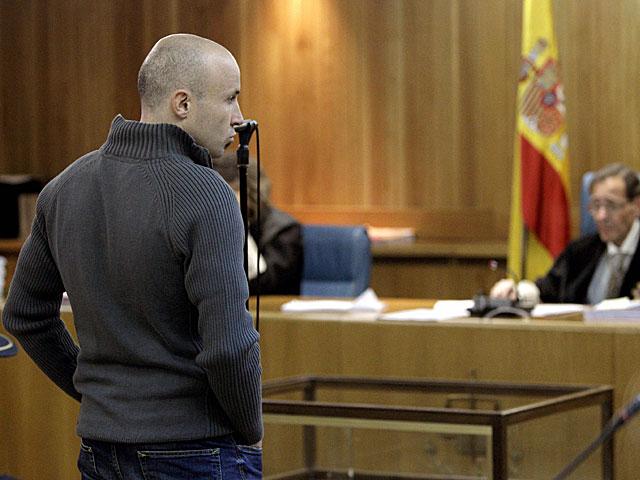 Gurutz Agirresarobe, durante el juicio celebrado en la Audiencia Nacional.   Juanjo Martín / Pool