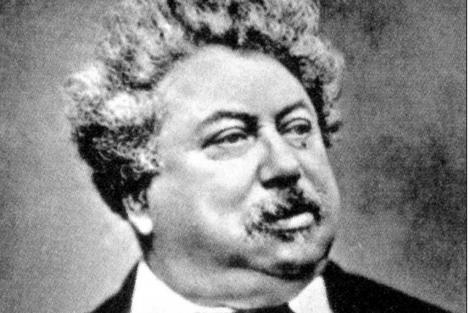 El orondo Alejandro Dumas.