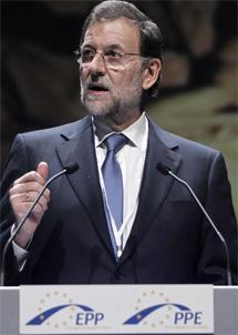 Mariano Rajoy en Marsella. | Ap